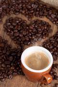 coffee love - stock photo