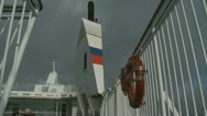 Stock Video Footage of France-UK Ferry crossing (6)