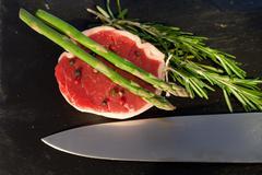 Stock Photo of raw beef