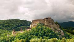 Orava Castle - stock photo