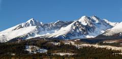 The Tatra Mountains - stock photo