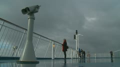 France-UK Ferry crossing (7) Stock Footage