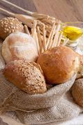 Stock Photo of fresh bread