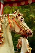 Fairground Horses Stock Photos