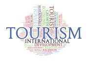 Word tags of tourism Stock Illustration