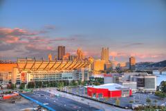 Pittsburgh Skyline Stock Photos