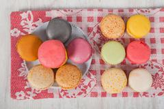 Stock Photo of french macarons