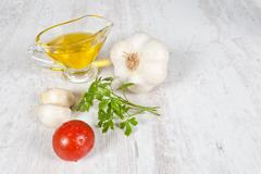 raw ingredients - stock photo