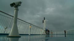 France-UK Ferry crossing (8) Stock Footage