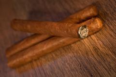 Havana cigars Stock Photos