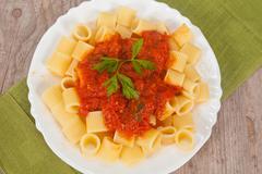 Stock Photo of italian pasta