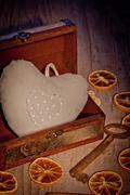 Stock Photo of treasure heart
