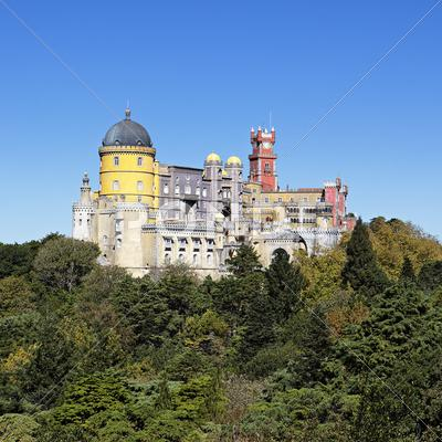 Stock photo of sintra square