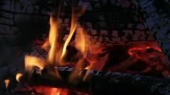 Campfire Loop #2 Stock Footage