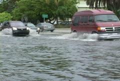 Street Flooding Stock Footage