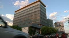Los Angeles Film School TIME LAPSE - stock footage