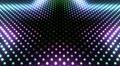 LED Wall 2 Star GAr HD Footage