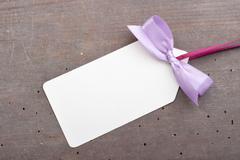 violet loop - stock photo