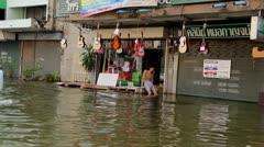 Thailand Ayutthaya Flood 9689 Stock Footage