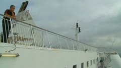 France-UK Ferry crossing (15) Stock Footage