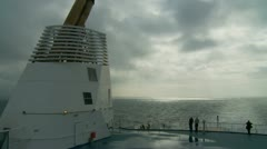 France-UK Ferry crossing (16) Stock Footage