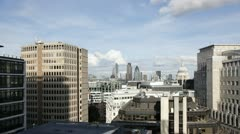 London City Time Lapse Stock Footage
