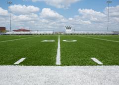 american football field - stock photo