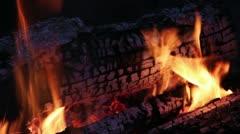 Campfire Loop #4 Stock Footage