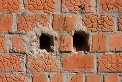 Background from an old brick wall Stock Photos