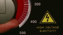 High Voltage Electricity Stock Footage