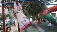 Persistence and determination by kid Stock Footage