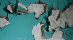 Peeling paint Stock Footage