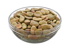 Stock Photo of fava beans isolated