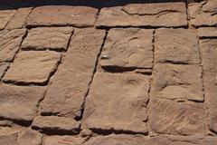 Old stone pavement Stock Photos