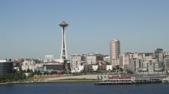 Seattle Harbor 005 Stock Footage