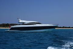 Boats in Ibiza Stock Photos
