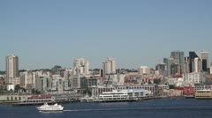 Stock Video Footage of Seattle Harbor 006