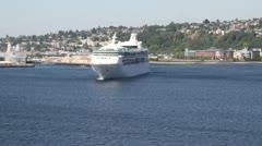 Seattle Harbor 011 Stock Footage