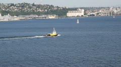 Seattle Harbor 014 Stock Footage