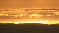 Sky sunset Stock Footage