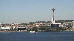 Seattle Harbor 009 Stock Footage