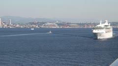 Seattle Harbor 017 Stock Footage
