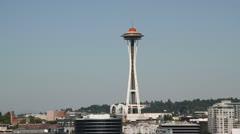 Seattle Harbor 007 Stock Footage