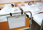 Stock Photo of ill child in hospital