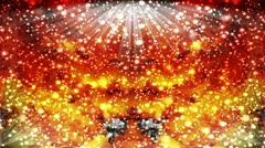 Movement of light particles, chaotic effect Stock Footage