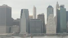 Brooklyn Bridge NYC Stock Footage