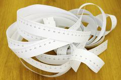 tapes for measurement - stock photo