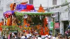 Chariot Of Lord Jagannatha,Rathyatra Stock Footage