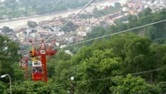 Stock Video Footage of Ropeway at Haridware