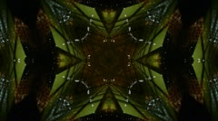 Kaleidoscope tunnel channel X pattern,sci-fi fantasy style. Stock Footage